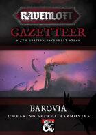 Ravenloft Gazetteer: Barovia Volume 1