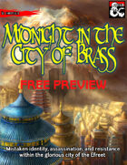 Midnight in the City of Brass Free Preview
