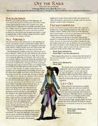 Off the Rails: A 5e Pulp Fantasy One Sheet