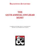 The 125th Annual Owlbear Hunt