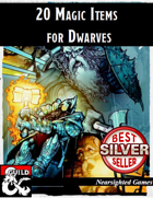 20 Magic Items for Dwarves