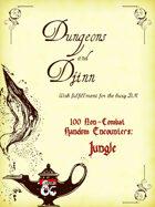 100 Non-Combat Random Encounters (Jungle)