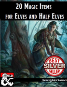 20 Magic Items for Elves and Half-Elves