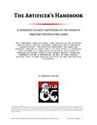 The Artificer's Handbook