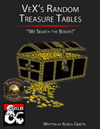 VeX's Random Treasure Tables (Fantasy Grounds)
