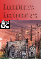 Adventurers HeadQuarters (eng/ger)
