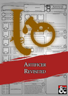Class Character Sheets - The Artificer Revisited