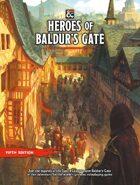 Heroes of Baldur's Gate (5e)