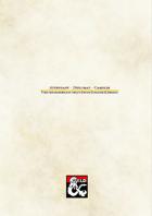 3 New Backgrounds - Attendant, Diplomat, Gambler