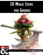 20 Magic Items for Gnomes
