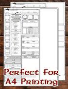 DMsJourney's 5e Chatacter Sheet (A4/Fillable/Auto-Calc)