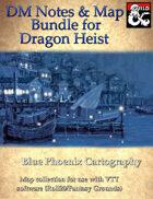 DM Notes & Maps Expansion for Dragon Heist (Bundle)