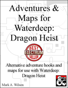 Adventures & Maps for Waterdeep: Dragon Heist