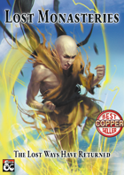 Lost Monasteries - A 5th Edition Monk Collection