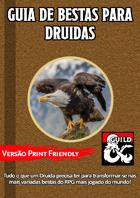 Guia de Bestas para Druidas (versão Print-Friendly)