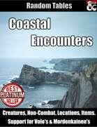 Coastal Encounters - Random Encounter Tables