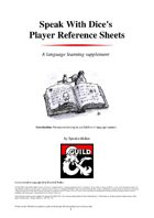 ESL Player Reference Sheets