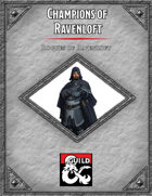 Champions of Ravenloft: Rogues of Ravenloft