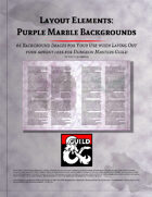 Layout Elements: Purple Marble Backgrounds