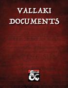 Vallaki Documents: Ephemera for Curse of Strahd