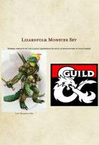 Lizardfolk Monster Set