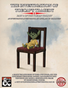 The Investigation of Toecap's Tragedy