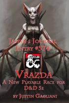 Jasper's Journal: Vrazda, New Playable Race