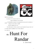 The Hunt For Randar