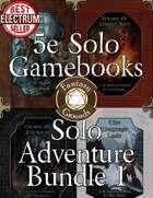 Solo Adventure Bundle 1 (Fantasy Grounds)