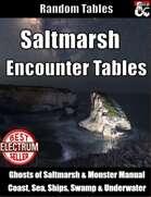 Saltmarsh Encounter Tables - Random Encounters