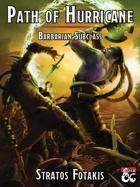 Path of the Hurricane Barbarian 5e