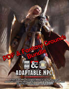 Adaptable NPCs: PDF & Fantasy Grounds [BUNDLE]