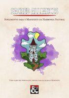 Sacred Alliances — A Manifesto of Natural Harmony Supplement em português