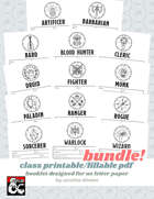 Class Booklet Bundle