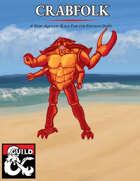 Crabfolk 5E Player Race