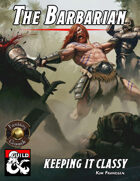 Keeping It Classy: The Barbarian (Fantasy Grounds)