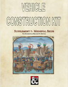 Vehicle Construction Kit: Medieval Ships