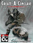 Create-A-Conclave: A Ranger Conclave Creation Guide