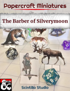 Papercraft Minis: Barber of Silverymoon