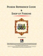 Poison Reference Guide & Shop of Poisons
