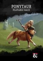 Ponytaur - Playable Race