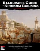 Balduran's Guide to Kingdom Building