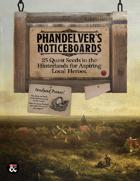 Phandelver's Noticeboards: 25 Quest Seeds for the Hinterlands