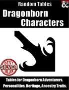 Dragonborn Characters - Random Tables