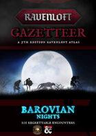 Barovian Nights - 101 Ravenloft Encounters (Fantasy Grounds)