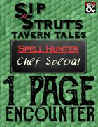1-Page Encounter: Chef Special
