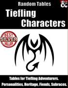 Tiefling Characters - Random Tables