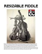 Resizable Fiddle