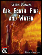 Cleric Domains - Air, Earth, Fire, and Water