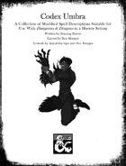 Codex Umbra: Spell Descriptions for a Horror Setting